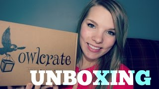 Owl Crate Unboxing | Monthly Book Subscription Box!