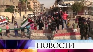 Жителям сирийского Дэйр-эз-Зора срочно доставят гуманитарную помощь.