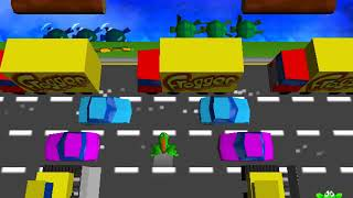 Frogger (PC, 1997) Walkthrough