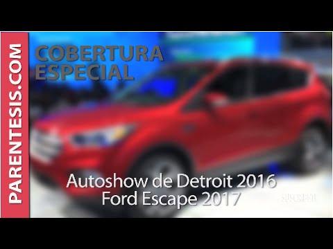 #NAIAS2016: Nueva Ford Escape 2017