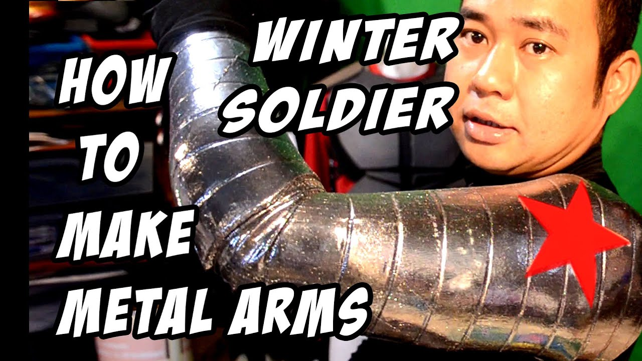 How to Make Winter Soldier Metal Arm DiY Cosplay Costume ...