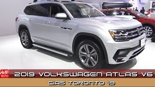 2019 Volkswagen Atlas V6 - Exterior And Interior - 2019 CIAS Toronto