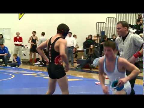 2/14/15 - Wrestling - WIAA Division 2 Regionals