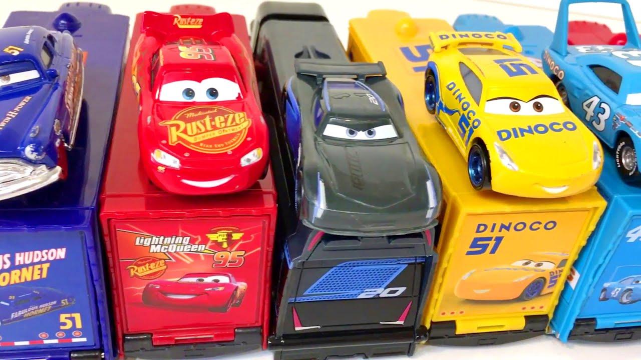Машинки из Мультика Тачки Учим Цвета Развивающие Мультфильмы для Самых Маленьких с Игрушками