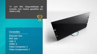 Smart TV Sony XBR-55X905A LED 4K UHD de 55 Polegadas 3D com 4 óculos