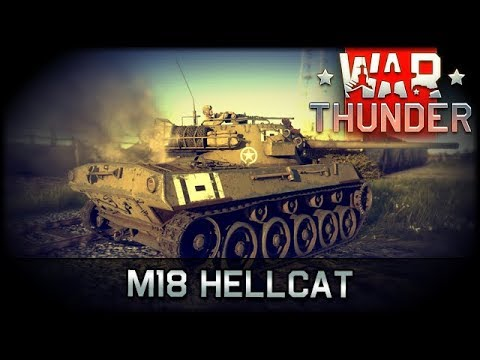M18 Hellcat - War Thunder [ deutsch 🐄 gameplay ]