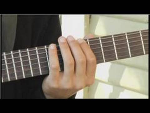 Playing D-Flat Diminished Arpeggios on Guitar : How to Play Guitar ...