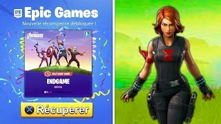 "RE-RESURRE THE NEW RECOMPENSES ""AVENGERS"" FREE for ALL on FORTNITE!!"