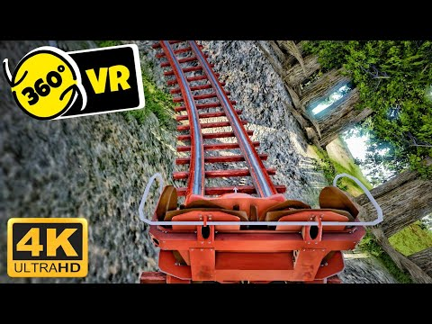 4K 360 VR Backwards Start Coaster Simulator Video for Google Cardboard 360° 3D VR split screen SBS