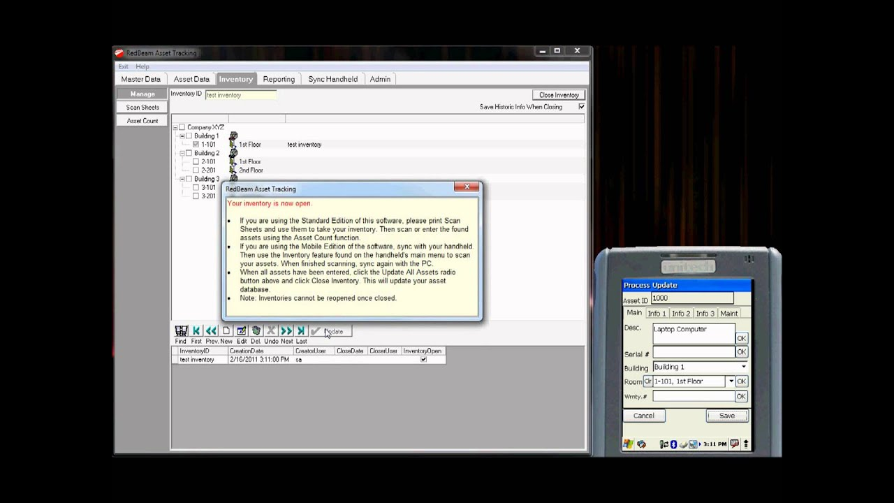 RedBeam Asset Tracking Prerecorded Web Demo - YouTube