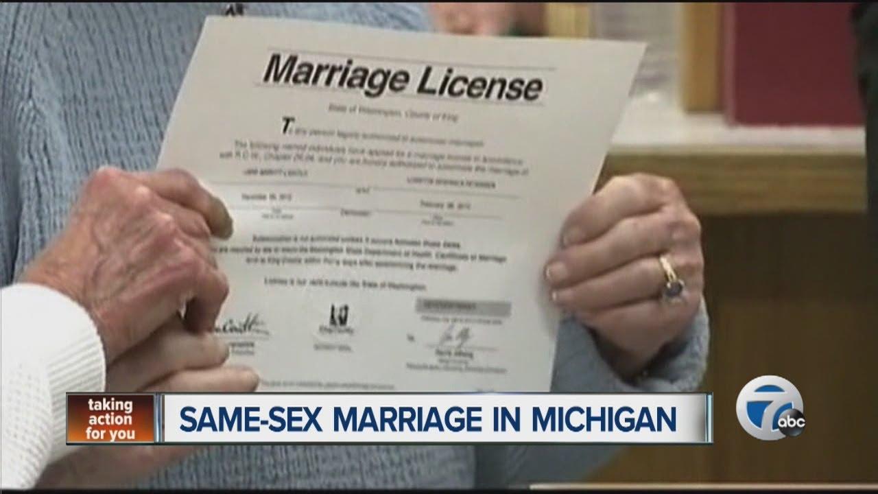 Same-sex marriage in Michigan