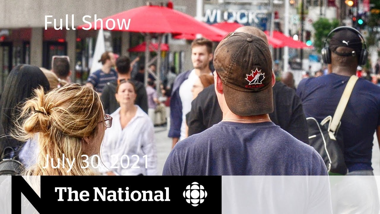 CBC News: The National | Potential fourth wave, Water advisories settlement, Barenaked Ladies