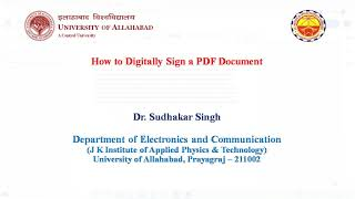 How to Digitally Sİgn a PDF Document