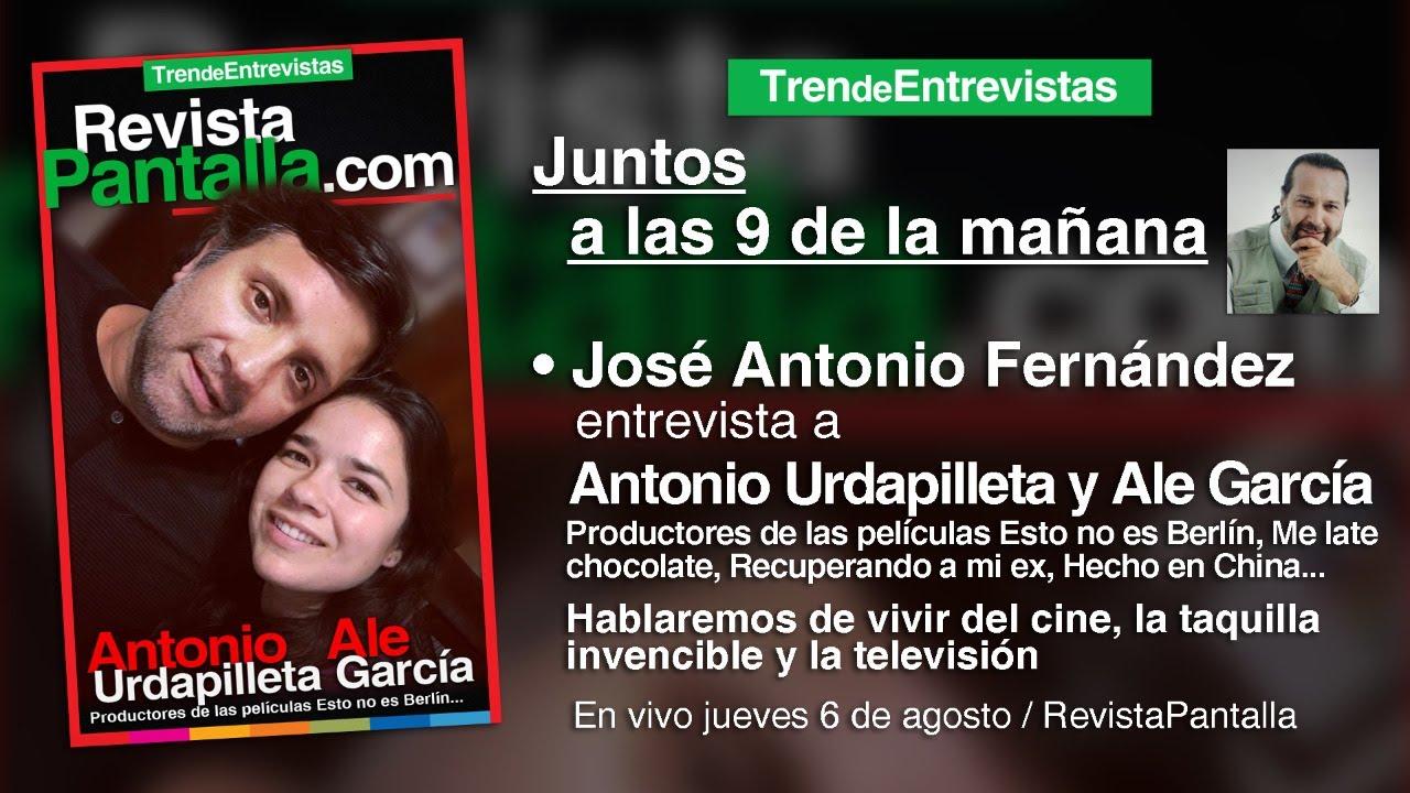 Antonio Urdapilleta y Ale García Productores