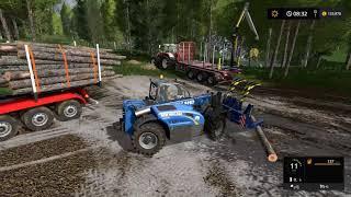 Farming simulator 17 - Emerald valley logging timelapse ep#1