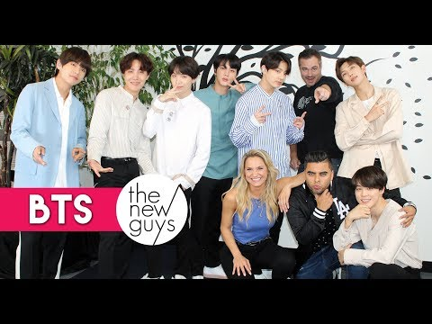 BTS Celebrates 'Fake Love' Release with The New Guys