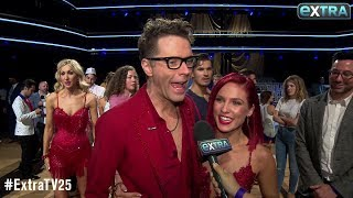Bobby Bones and Sharna Burgess Kept the Excitement Going After 'DWTS' Debut