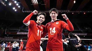 Volleyball Brothers   Yuji Nishida \u0026 Yuki Ishikawa   Amazing Duo   Men's VNL 2021