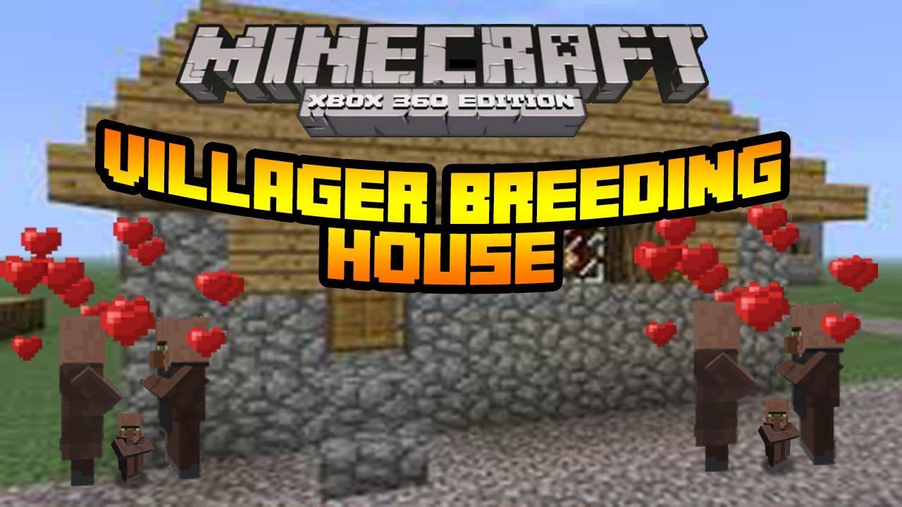 Minecraft Xbox 9 Tutorial- Villager Breeding House - YouTube