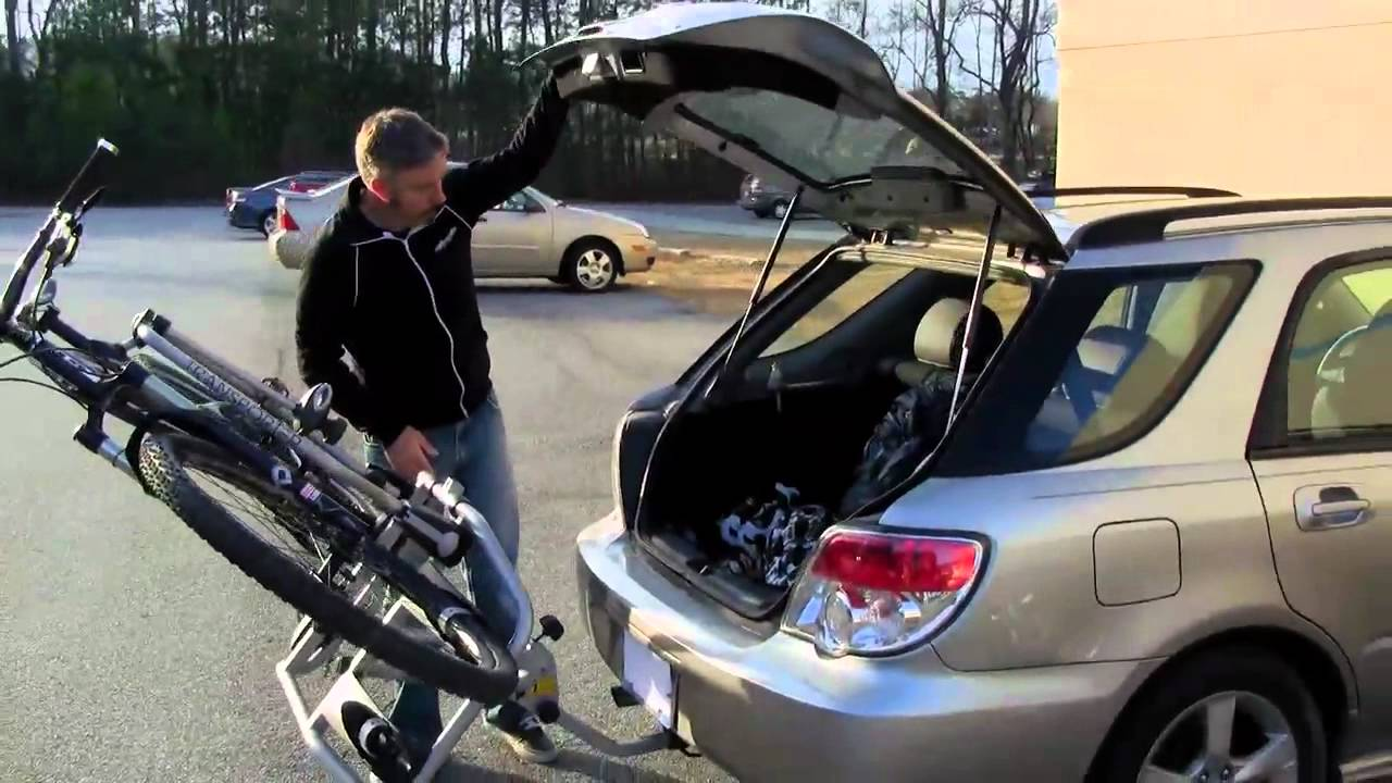 Bicycle Hitch Rack >> Transit Transporter 2 Bike Hitch Rack Review from Performance Bicycle - YouTube