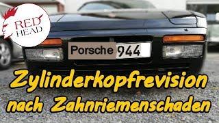 Porsche 944 2,5 Turbo M 44.52 Zylinderkopfrevision nach Zahnriemenschaden
