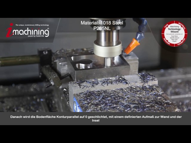 SolidCAM 2016 - iMachining Phase 1 (All features 3 tools)
