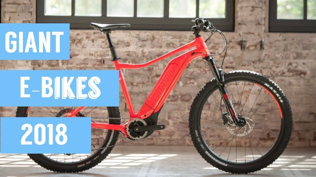 giant e bikes 2018 youtube. Black Bedroom Furniture Sets. Home Design Ideas