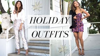 Revolve Holiday Party Outfits 2018 | New Year