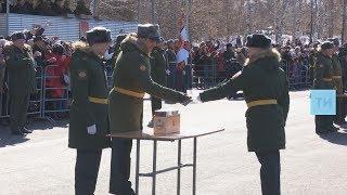 Казанское танковое училище выпустило 122 офицера по новой программе подготовки курсантов