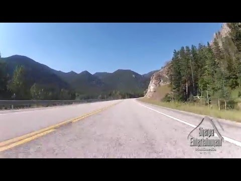 Yellowstone National Park and breath taking View of Beartooh Highway in Montana...