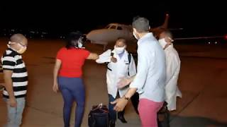 TWO CUBAN DOCTORS ARRIVE: RAW FOOTAGE (Ministry of Foreign Affairs, Grenada)