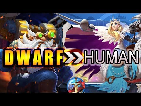 Art of Conquest How to defeat Human with Dwarf