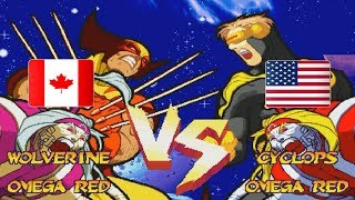 Marvel Super Heroes vs Street Fighter mshvsf Fightcade