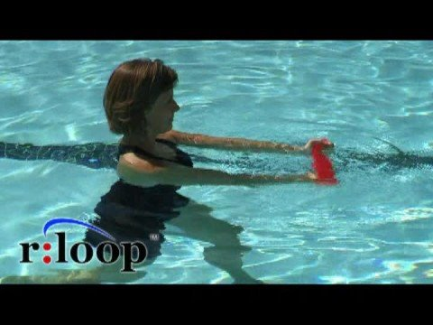 Water Exercise Using The Rloop Resistance Band For Aquatic