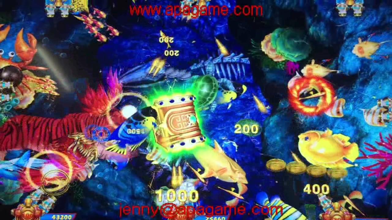 king of tiger fishing game 2017 new fishing game machine - YouTube