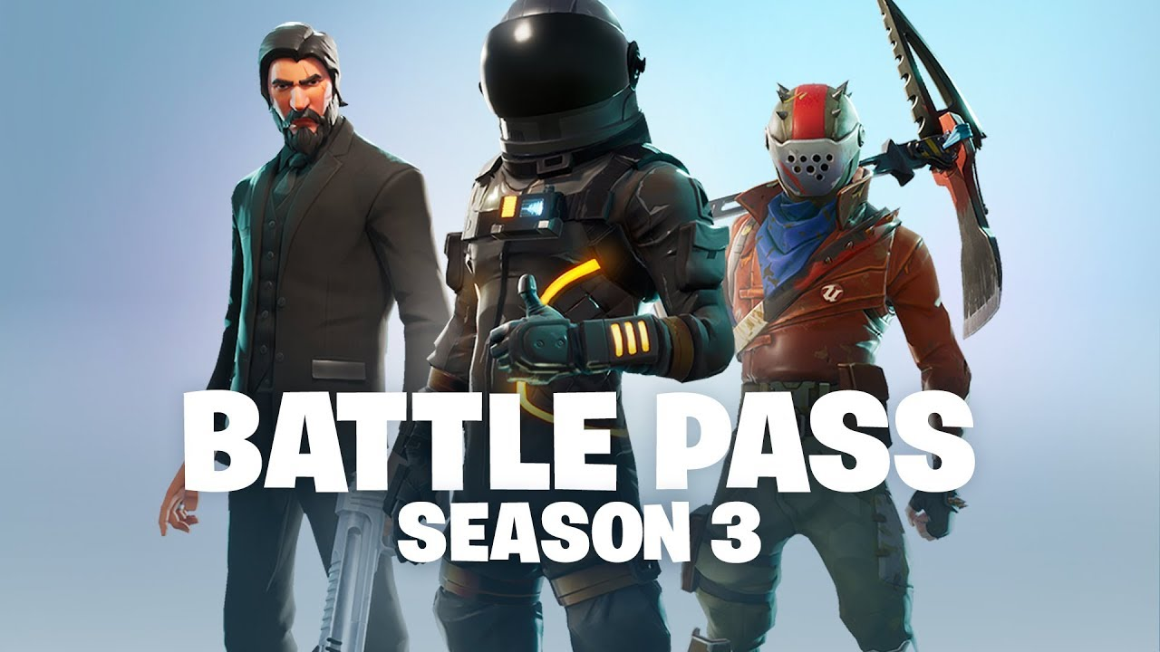 Battle Pass Season 3 Announce Battle Royale Youtube