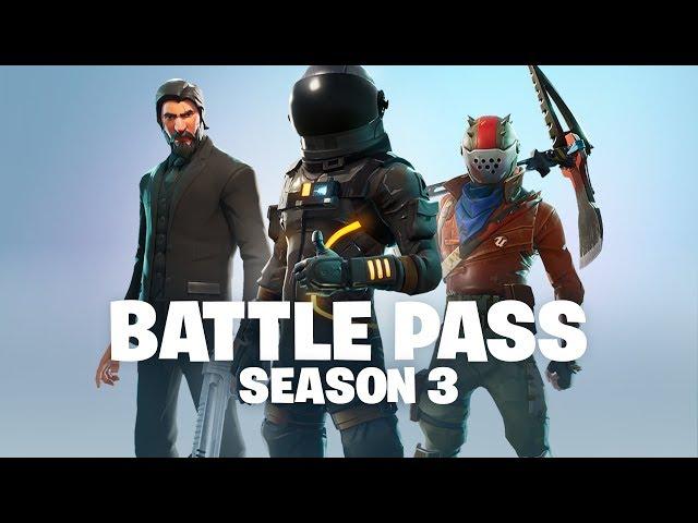 Season 3 In Fortnite Gestartet Highlight Des Battle Pass Ist John Wick