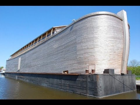 Exact Replica Of Noah's Ark / Netherlands