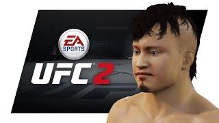 KUSHIDA UFC 2 Create A Fighter Tutorial  - (PS4/XBOX)