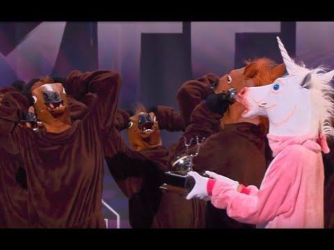 Na scenie wystąpiło stado koni! [Mam Talent!]