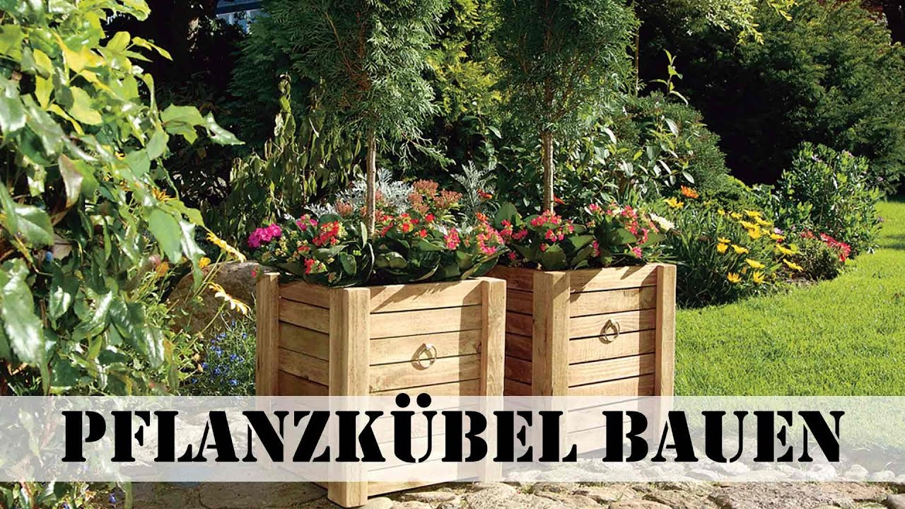 pflanzk bel aus holz bauen youtube. Black Bedroom Furniture Sets. Home Design Ideas