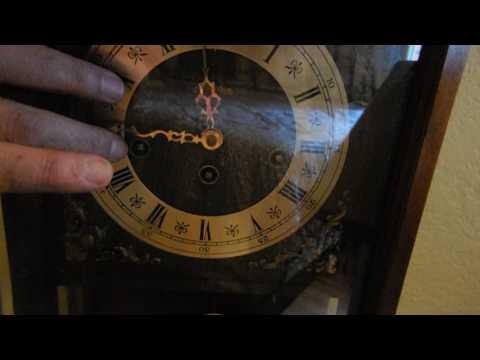 Linden With Cuckoo Clock Mg Mechanism Triple Chime Key Wind Mantel Clock Mod 341-20 81