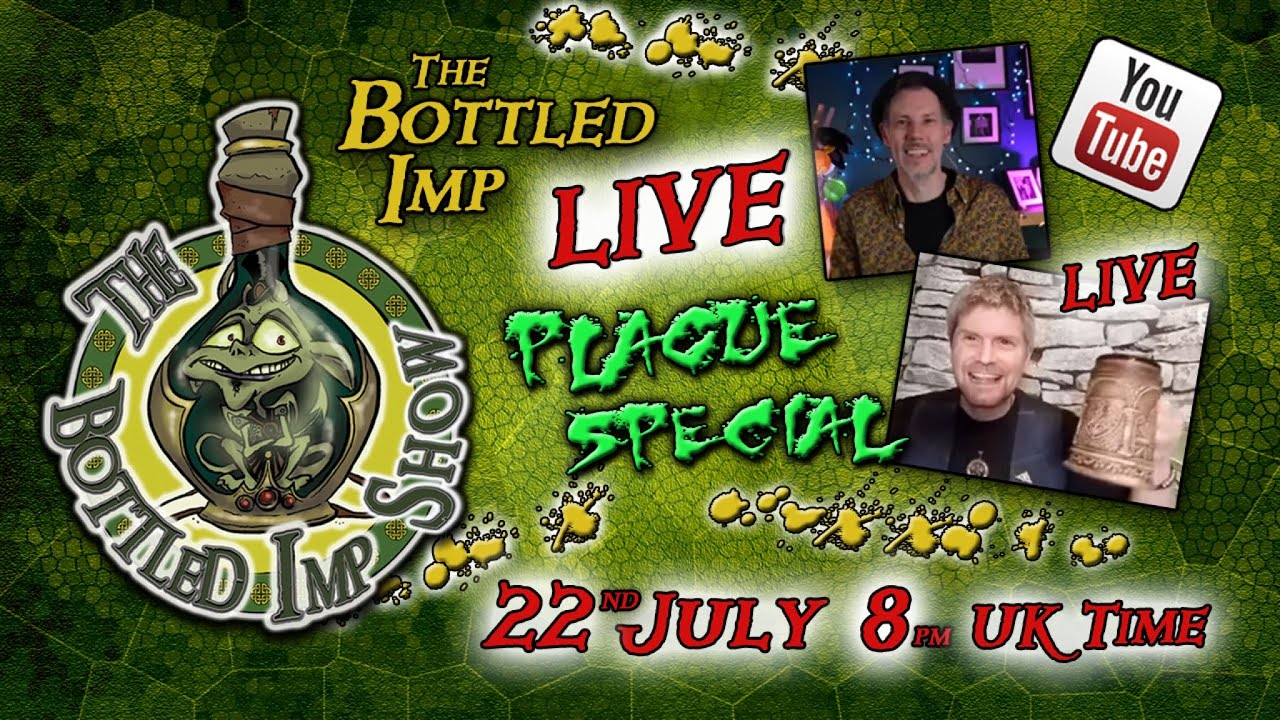 The Bottled Imp Show LIVE - Plague Special