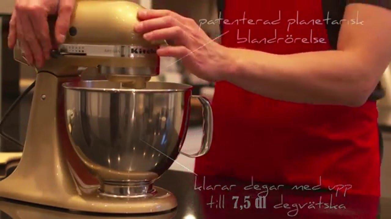 kitchenaid artisan köksmaskin