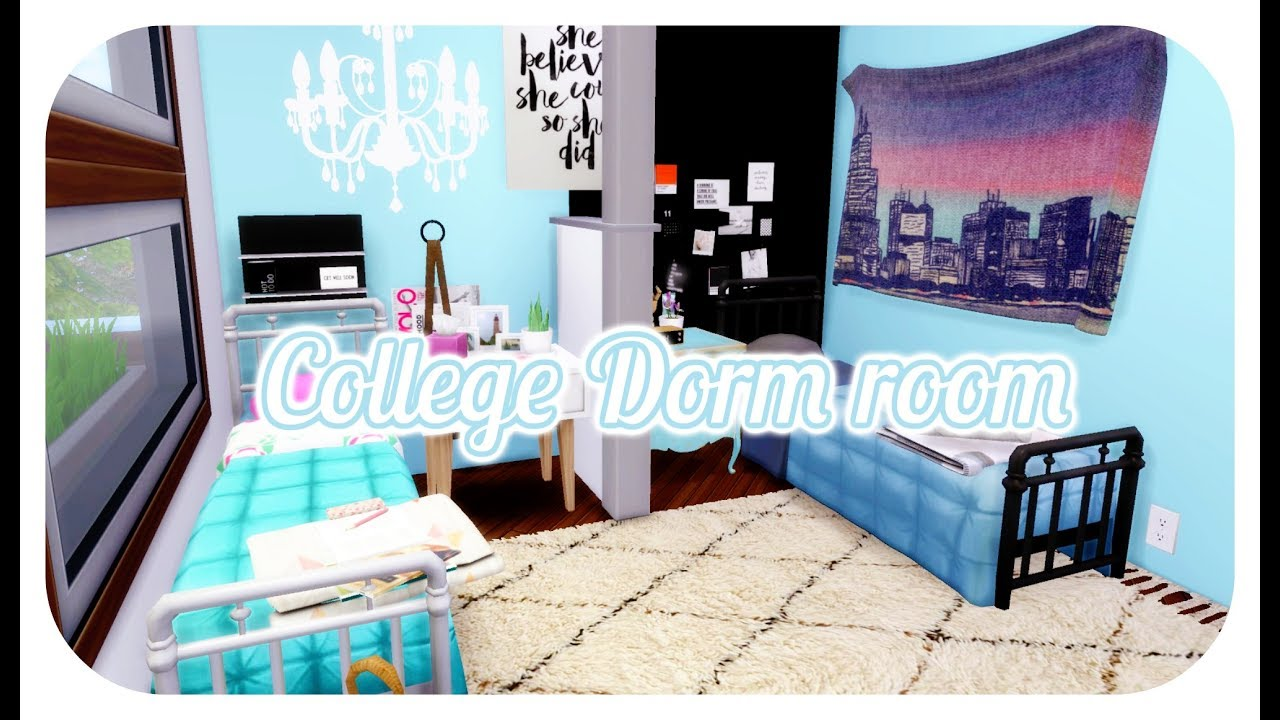Sims  Dorm Room Cc