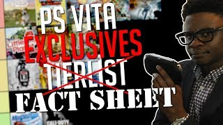 The PlayStation Vita 'Exclusive' Game Tier List