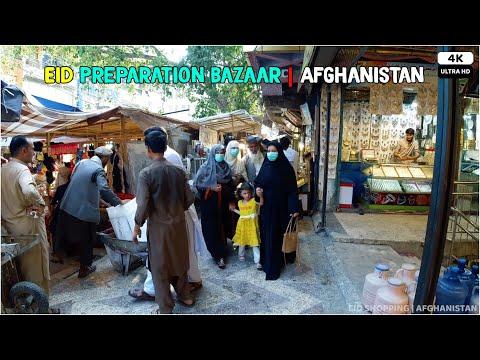 Eid Preparation Bazaar | Afghanistan