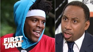 Cam Newton is overrated – Stephen A. | First Take