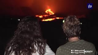 شاهد.. تجدد ثوران بركان في فرنسا (26/10/2019)