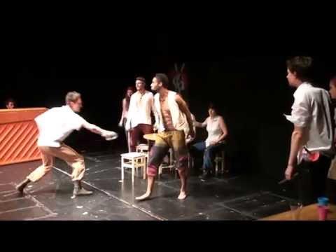 Kunstuni Graz Redoute 2016 Fluch der Karibik Bühnenfechten